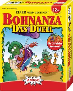 Schachtel Vorderseite- Bohnanza - Das Duell