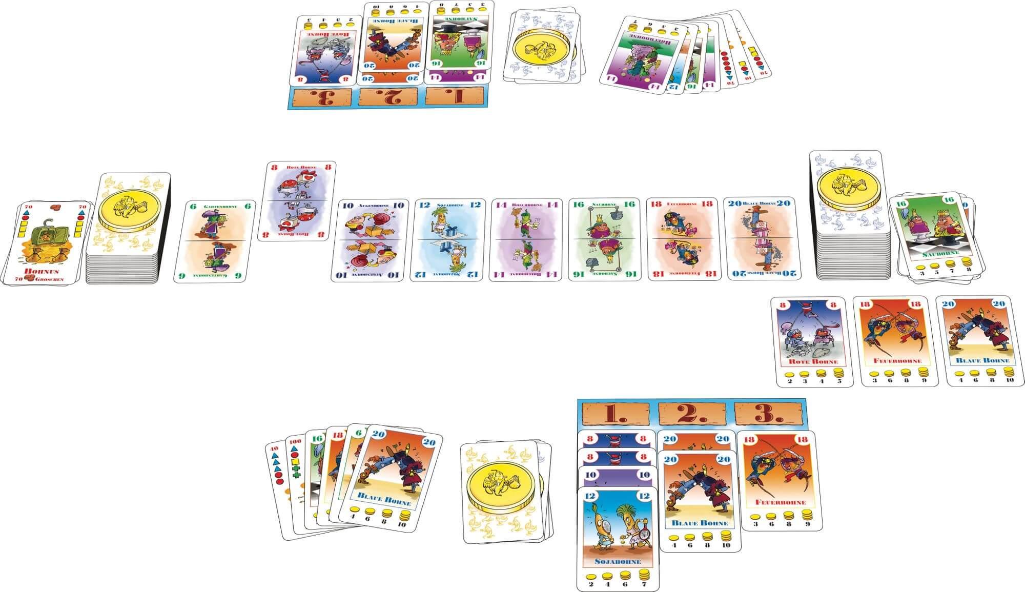 Spielkarten- Bohnanza - Das Duell
