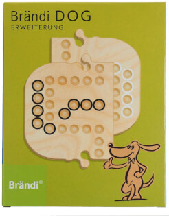 Schachtel Vorderseite- Brändi Dog-Erweiterung für 6 Spieler