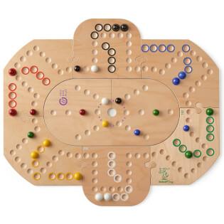 Erweiterung im Grundspiel Brändi Dog für 6 Spieler eingefügt- Brändi Dog Plus for 6 players