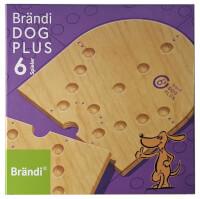 Schachtel Vorderseite - Brändi Dog Plus für 6 Spieler