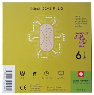 Schachtel Rückseite- Brändi Dog Plus for 6 players