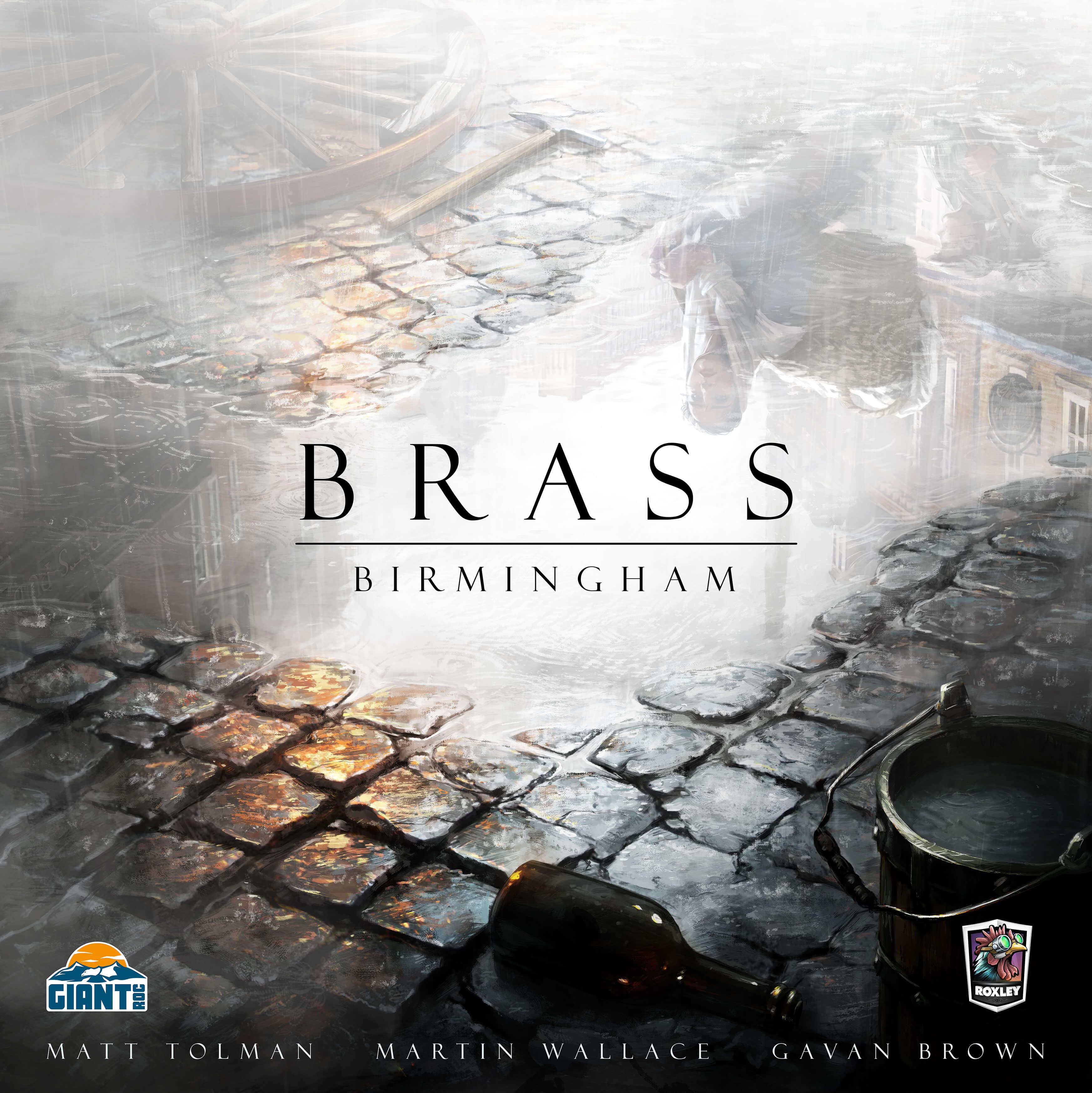 Schachtel Vorderseite- Brass: Birmingham