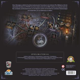 Schachtel Rückseite- Brass: Birmingham