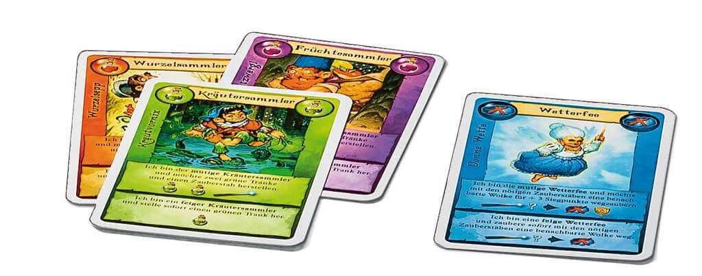 Spielkarten - Kennerspiel des Jahres 2015- Broom Service