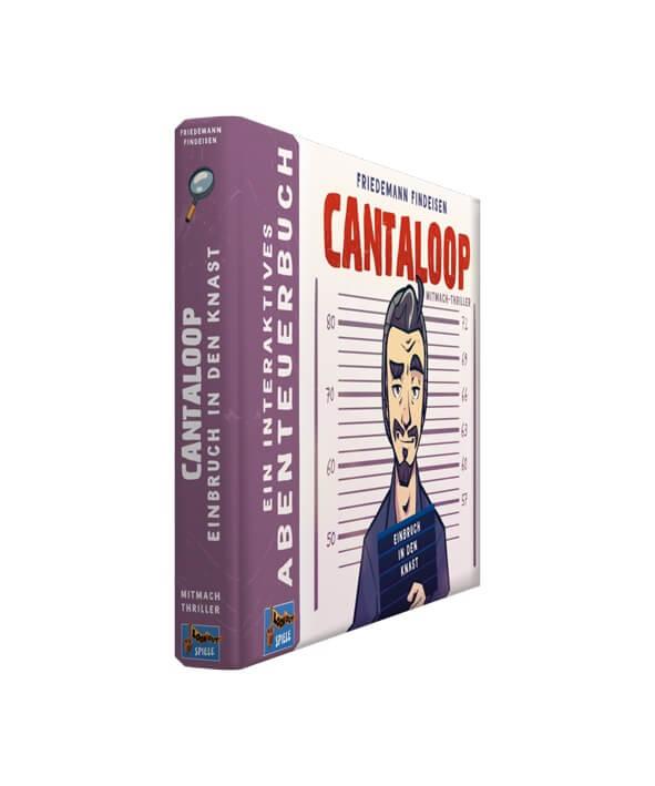 Schachtel Vorderseite- Cantaloop Buch 1 - Einbruch in den Knast
