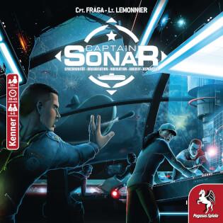 Schachtel Vorderseite- Captain Sonar