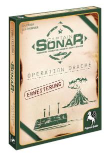 Schachtel Vorderseite links- Captain Sonar: Operation Drache