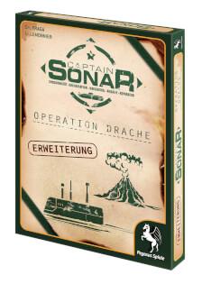 Schachtel Vorderseite rechts- Captain Sonar: Operation Drache