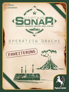 Schachtel Vorderseite- Captain Sonar: Operation Drache