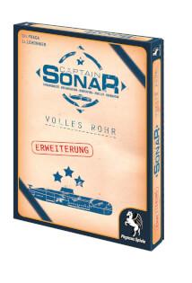 Schachtel Vorderseite links- Captain Sonar: Volles Rohr