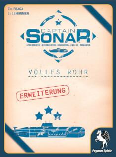 Schachtel Vorderseite- Captain Sonar: Volles Rohr