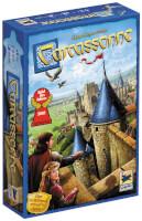 Schachtel Vorderseite - Spiel des Jahres 2001 - Carcassonne - Neue Edition