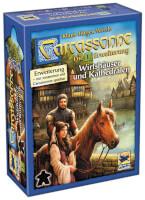 Schachtel Vorderseite - Carcassonne - Wirtshäuser und Kathedralen