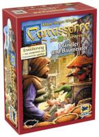 Schachtel Vorderseite  - Carcassonne - Händler und Baumeister