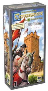 Schachtel Vorderseite- Carcassonne - Der Turm