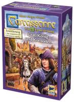Schachtel Vorderseite  - Carcassonne - Graf, König und Konsorten