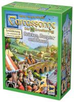 Schachtel Vorderseite - Carcassonne - Brücken, Burgen und Basare