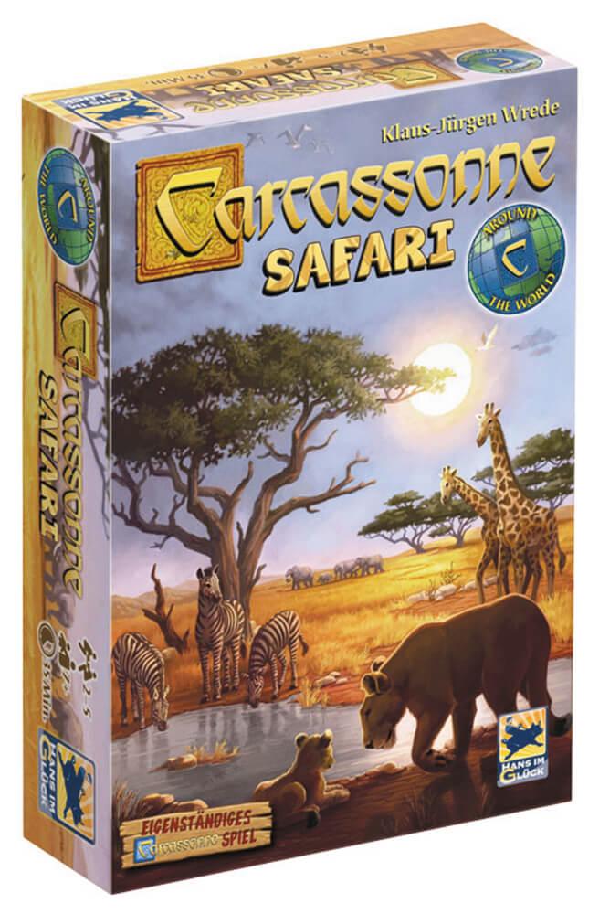 Schachtel Vorderseite- Carcassonne - Safari
