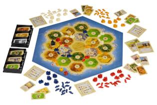 Spielplan - Spiel des Jahres 1995- Catan - Das Spiel