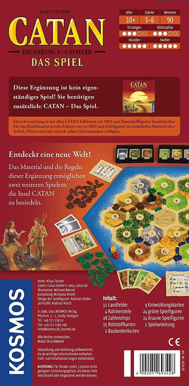 - Catan - Ergänzung 5-6 Spieler