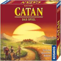 Schachtel Vorderseite - Spiel des Jahres 1995 - Catan - Das Spiel