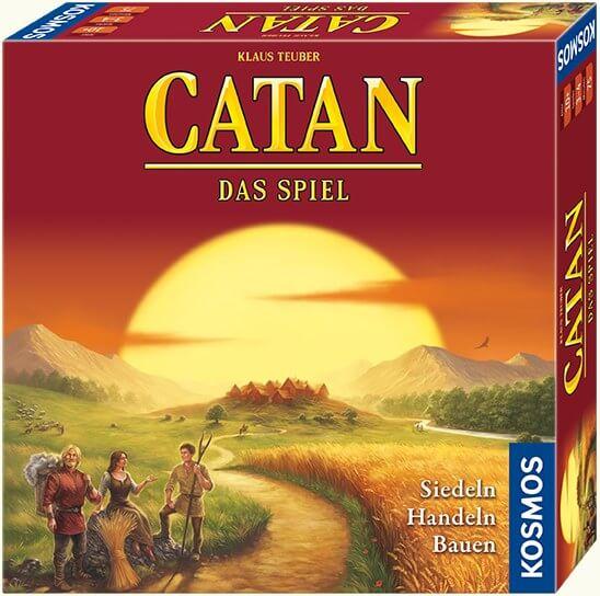 Schachtel Vorderseite - Spiel des Jahres 1995- Catan - Das Spiel