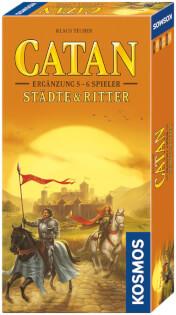 Schachtel Vorderseite- Catan: Städte & Ritter 5-6 Spieler