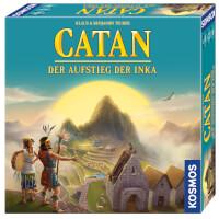 Schachtel Vorderseite, rechte Seite - Catan - Der Aufstieg der Inka