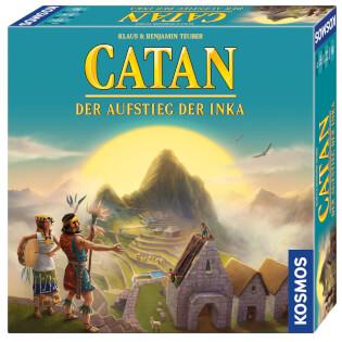 Schachtel Vorderseite, rechte Seite- Catan - Der Aufstieg der Inka