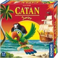 Schachtel Vorderseite, rechte Seite - Catan Junior