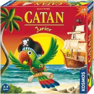 Schachtel Vorderseite, rechte Seite- Catan Junior