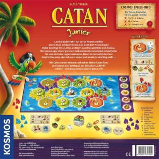Schachtel Rückseite- Catan Junior