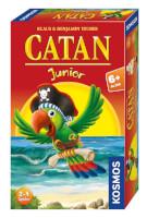 Schachtel Vorderseite, rechte Seite - Catan Junior - Mitbringspiel