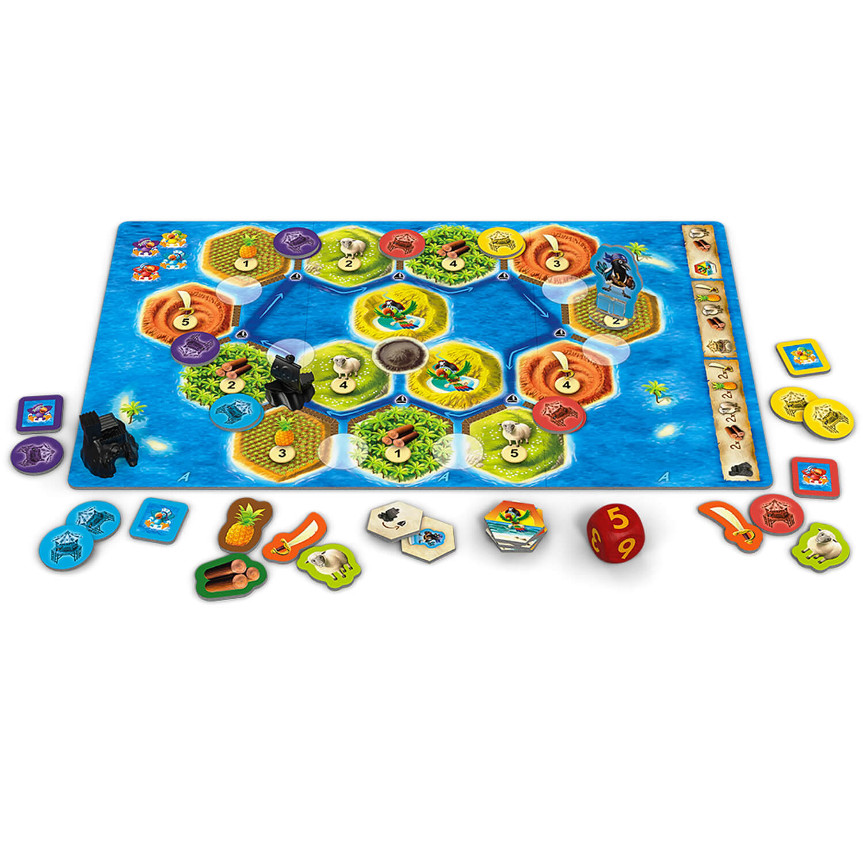 Spielmaterial- Catan Junior - Mitbringspiel