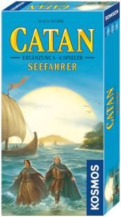 Schachtel Vorderseite, rechte Seite- Catan: Seefahrer 5-6 Spieler