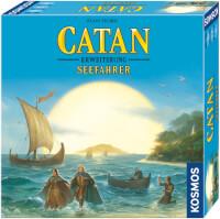 Schachtel Vorderseite, rechte Seite - Catan: Seefahrer 3-4 Spieler