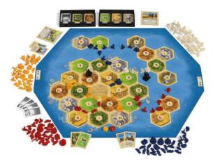 Spielmaterial- Catan: Seefahrer 3-4 Spieler