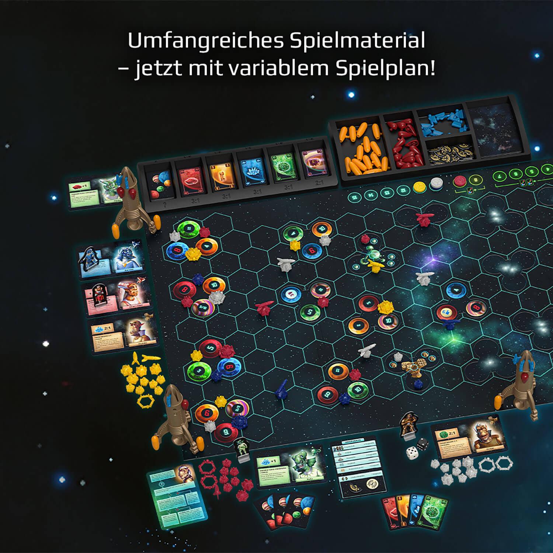 Spielmaterial- Catan - Sternenfahrer