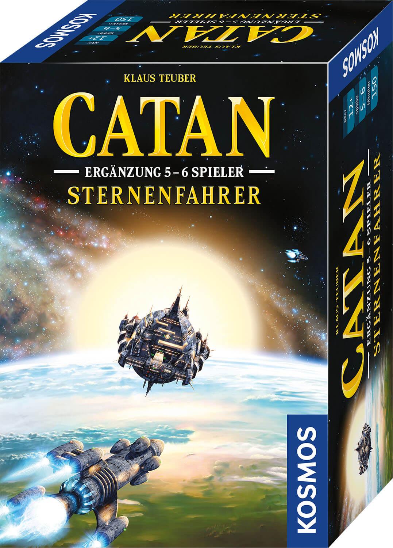 Schachtel Vorderseite- Catan - Sternenfahrer: Ergänzung 5-6 Spieler
