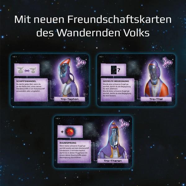 Freundschaftskarten- Catan - Sternenfahrer: Ergänzung 5-6 Spieler