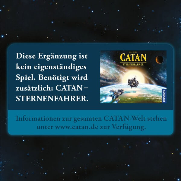 Informationstext- Catan - Sternenfahrer: Ergänzung 5-6 Spieler