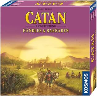 Schachtel Vorderseite, rechte Seite- Catan: Händler & Barbaren