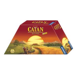 Schachtel Vorderseite, rechte Seite- Catan: Das Spiel Kompakt