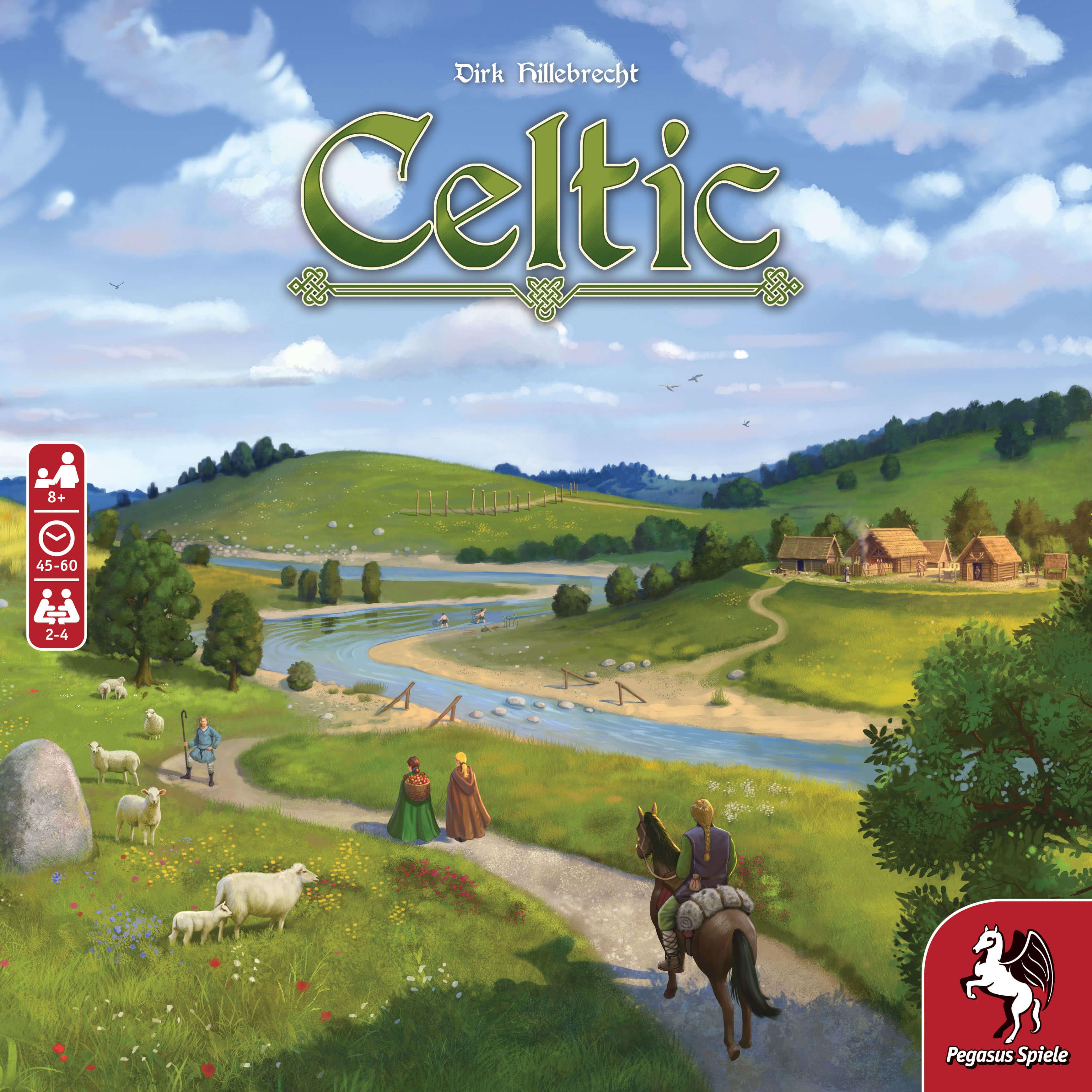 Schachel Vorderseite- Celtic