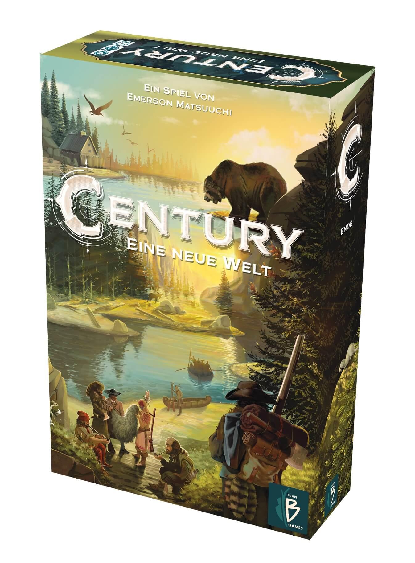Schachtel Vorderseite, rechte Seite- Century 3 – Eine neue Welt