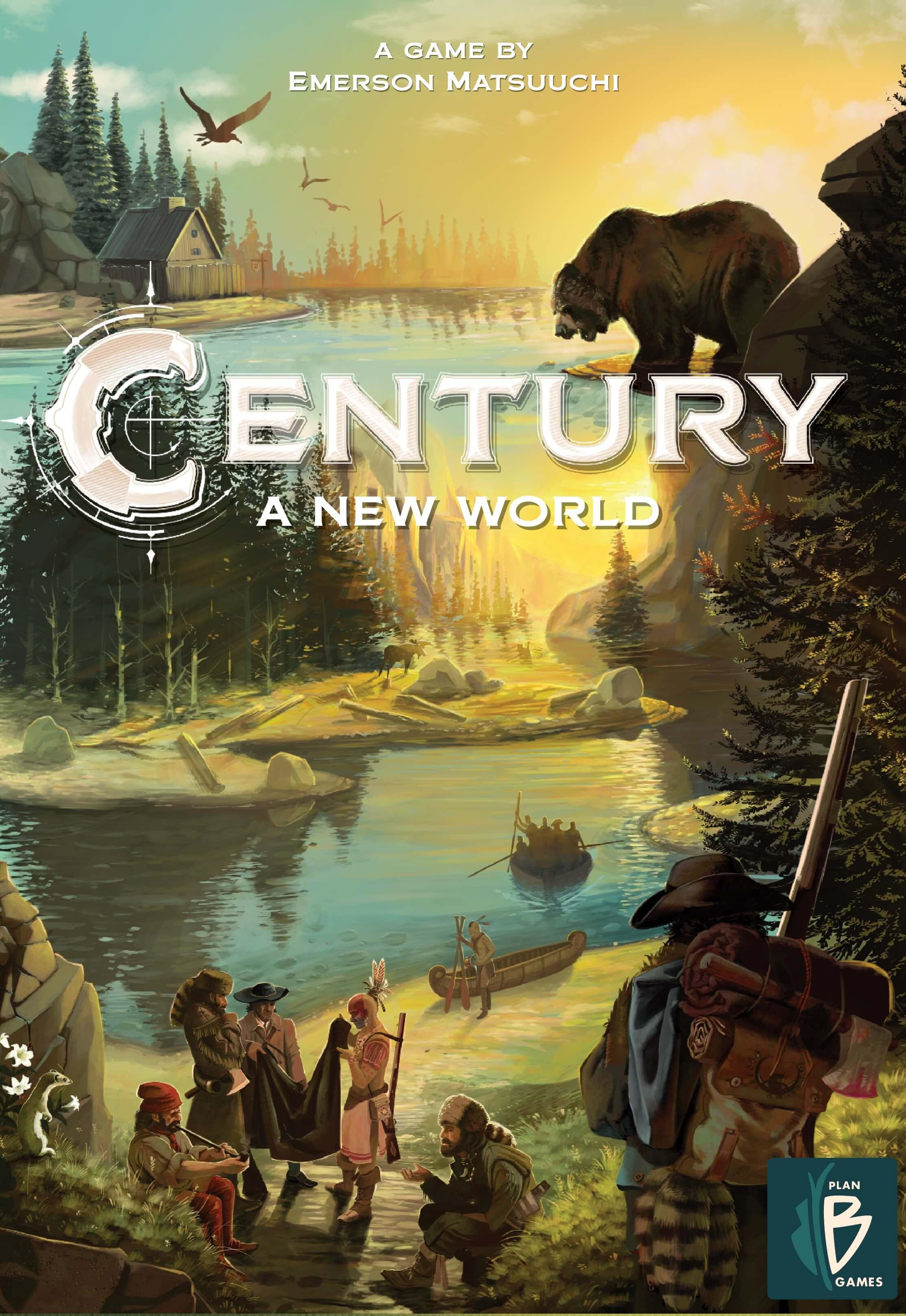 Schachtel Vorderseite- Century 3 – Eine neue Welt