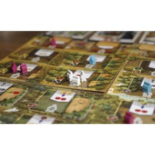 Spielaufbau - Spielfiguren- Century 3 – Eine neue Welt