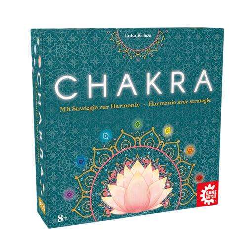 Schachtel Vorderseite- Chakra