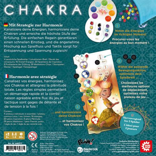 Schachtel Rückseite- Chakra